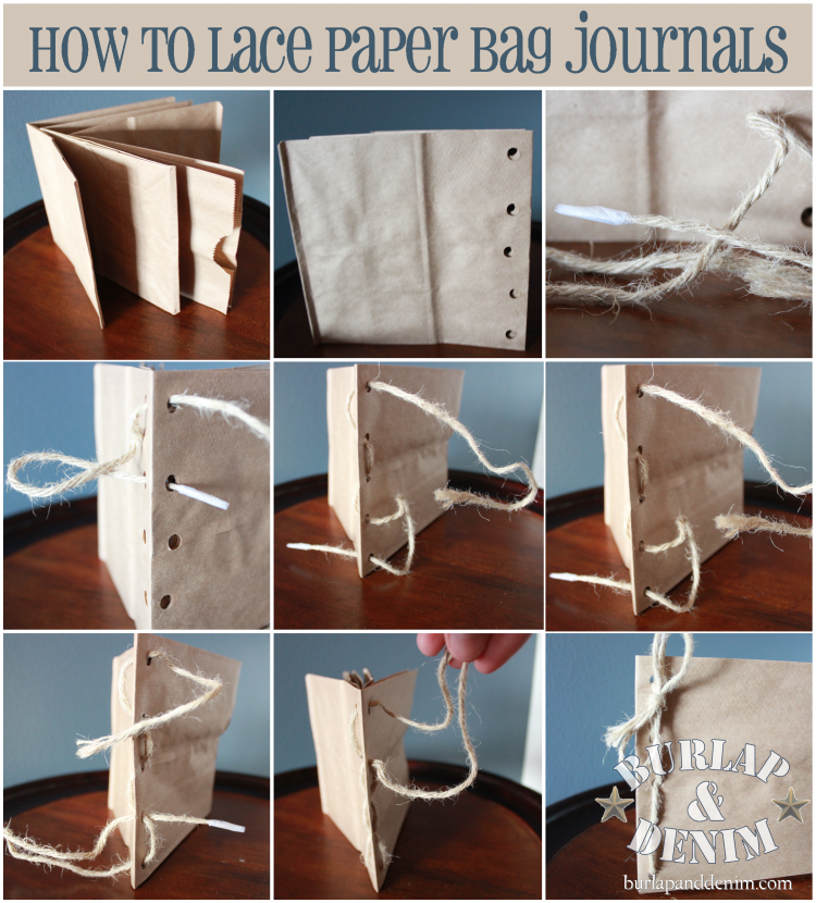 paper bag journal instructions