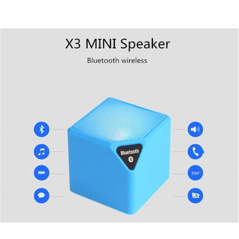 x3 bluetooth mini wireless speaker instructions