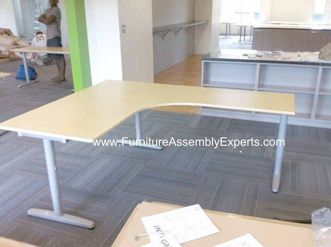 ikea galant desk assembly instructions