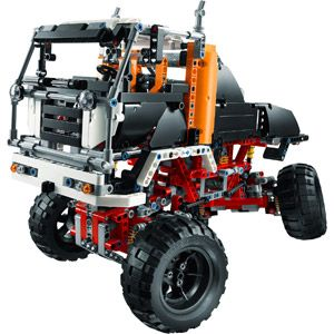 lego technic rock crawler instructions