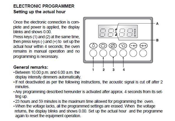 beko oven operating instructions