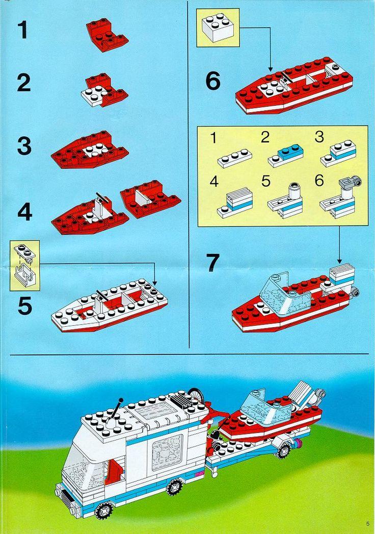 lego city caravan instructions