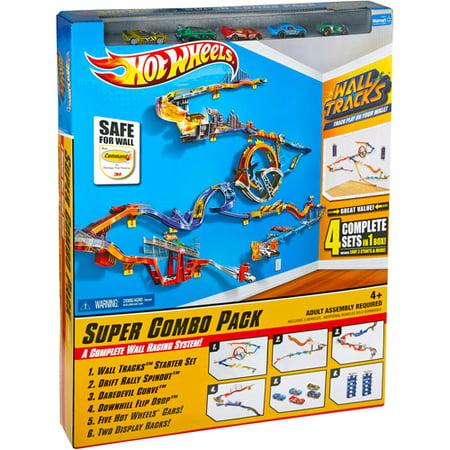 hot wheels wall track starter set instructions