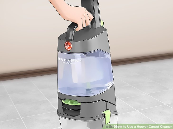 hoover carpet cleaner instructions