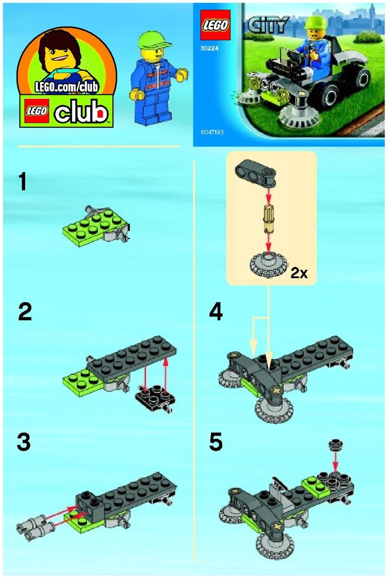 lego city building instructions