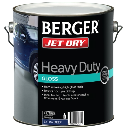 berger jet dry heavy duty instructions