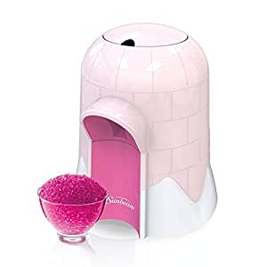 sunbeam igloo snow cone maker instructions
