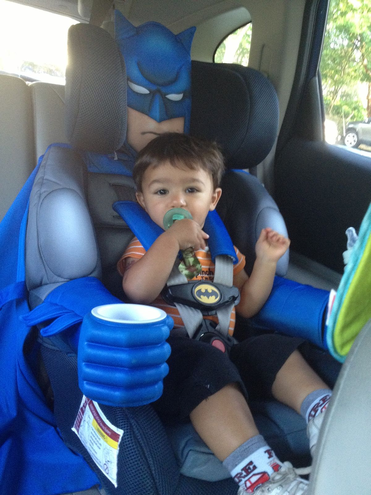batman car seat instructions