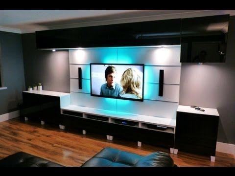 ikea tv wall mount instructions