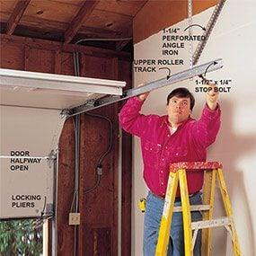 garage roller door installation instructions