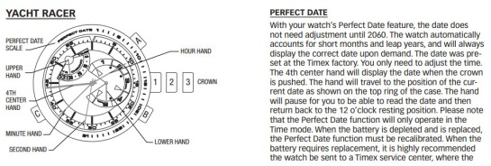 optimum time race sailing watch instructions
