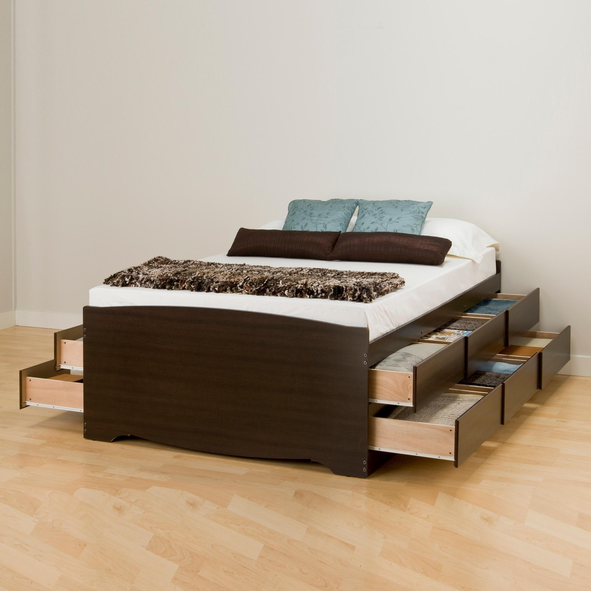 prepac platform storage bed assembly instructions