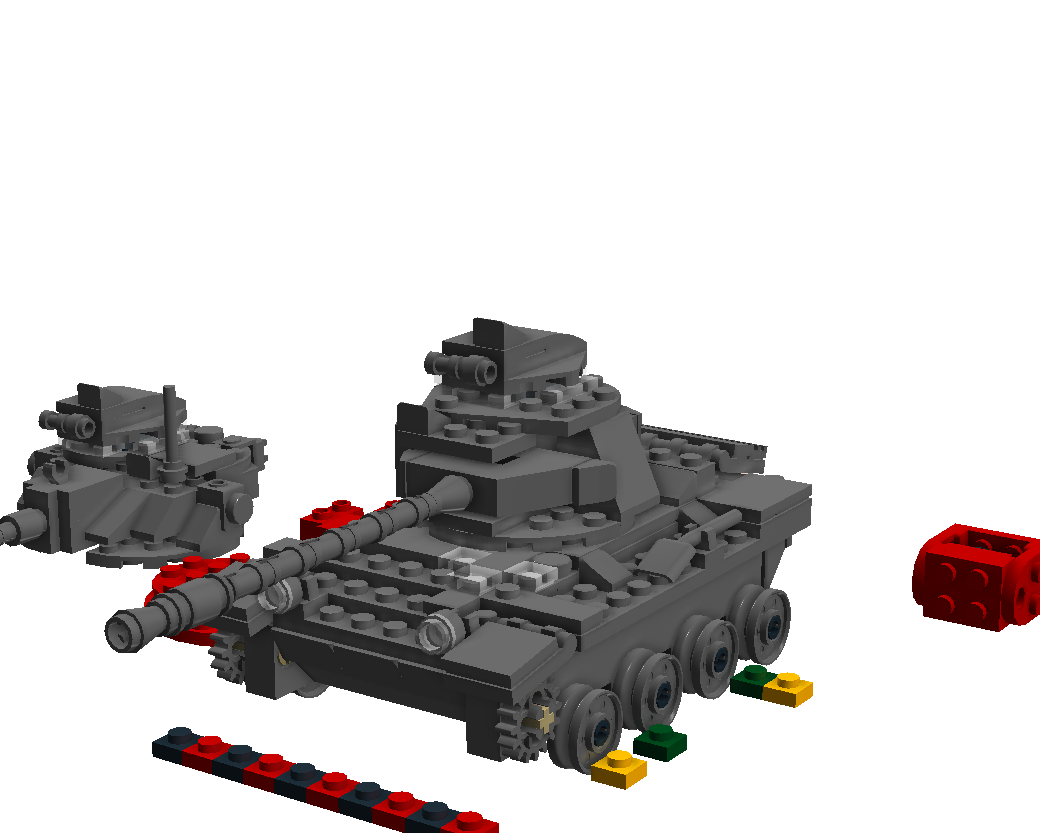 lego tank turret instructions