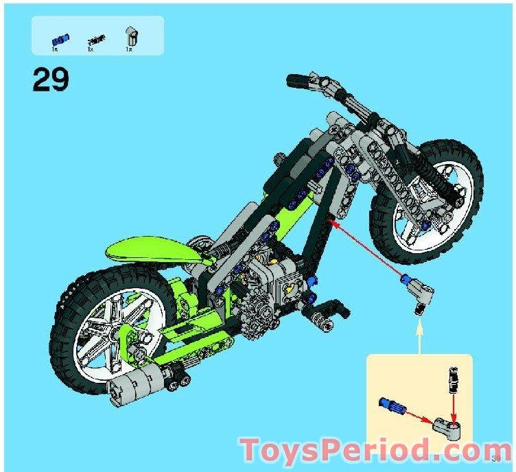lego dirt bike instructions