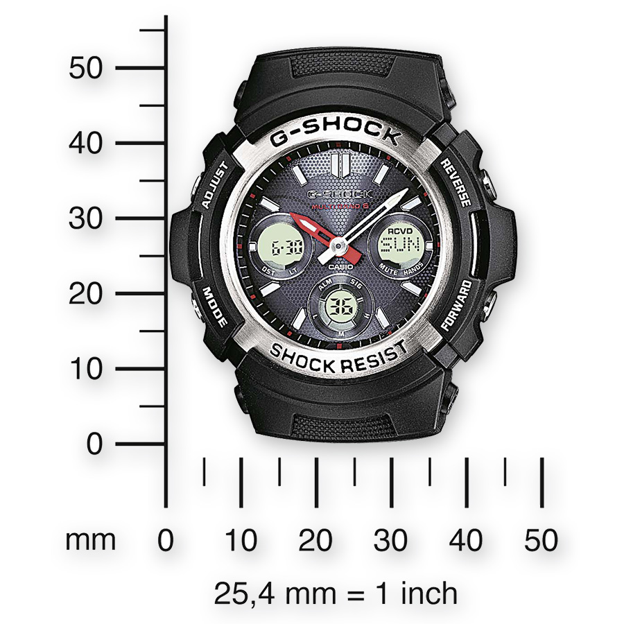 casio g shock instructions