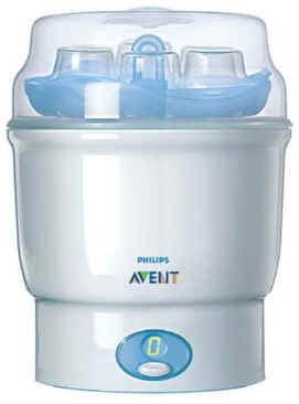 philips avent digital steam steriliser instructions