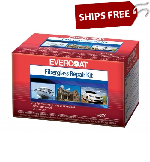 evercoat gel coat scratch patch instructions