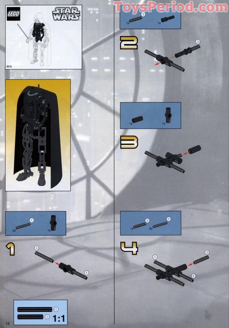 lego technic darth vader instructions