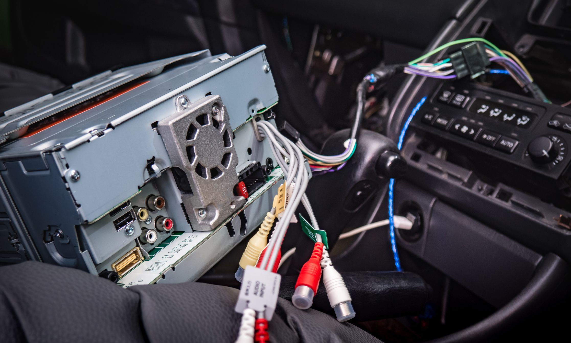 kenwood car stereo wiring instructions