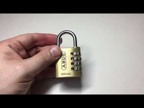 abus combination lock instructions