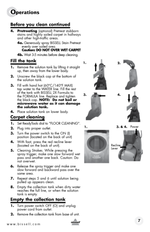 bissell readyclean powerbrush instructions