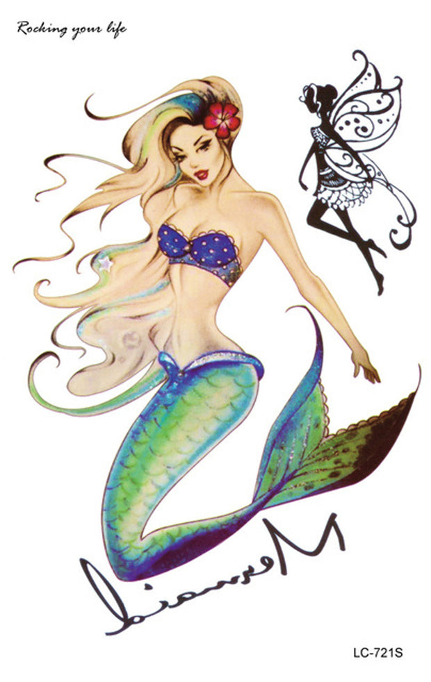 my magical mermaid instructions