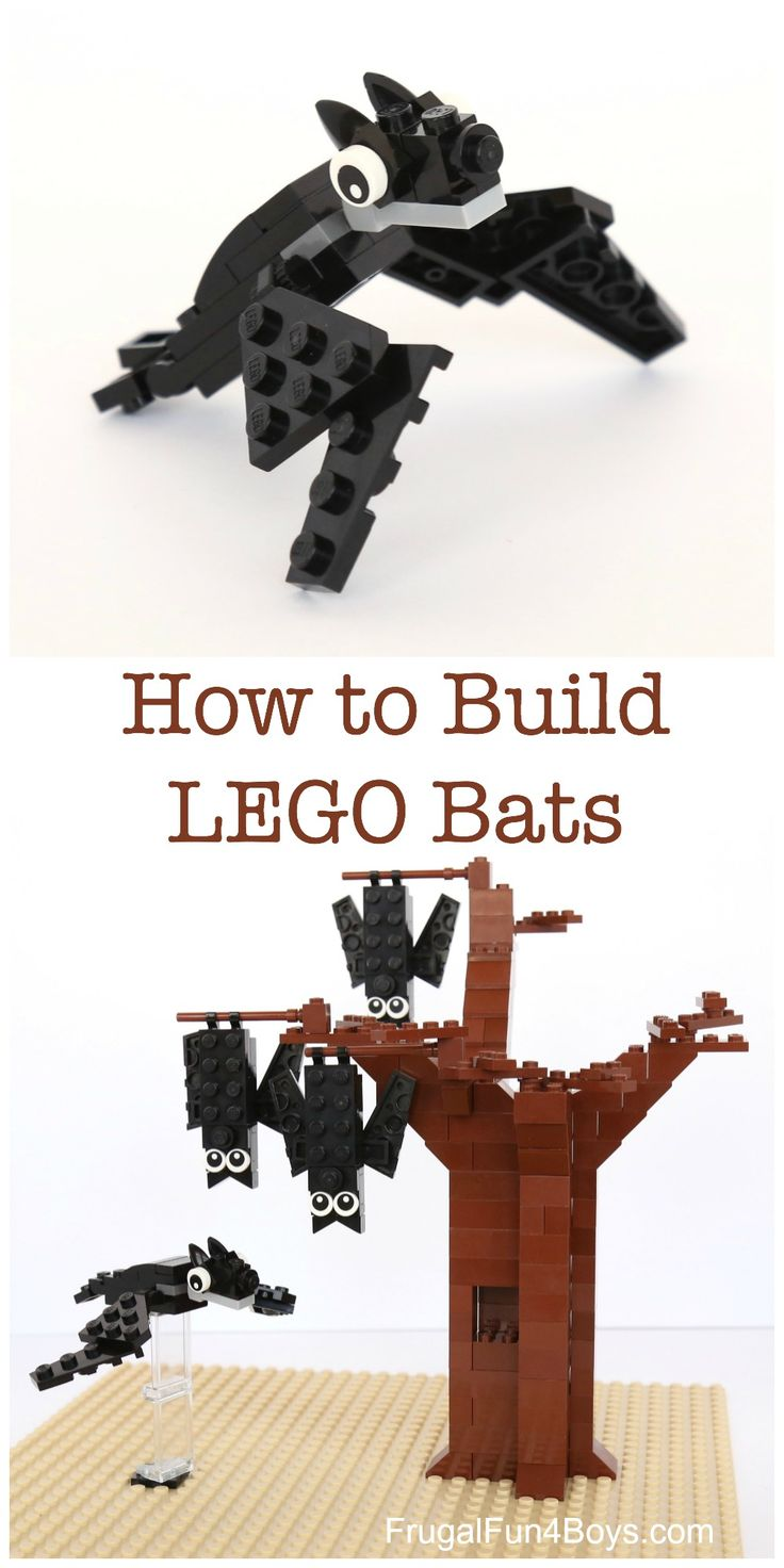 lego the bat instructions