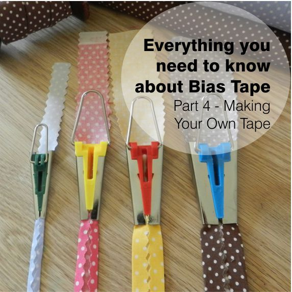 bias tape maker instructions