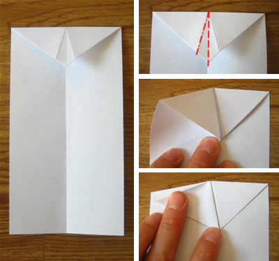 origami food folding instructions
