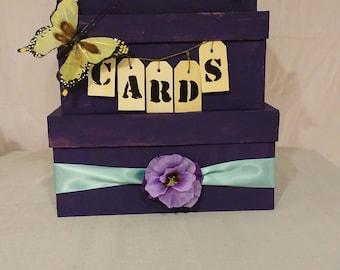 diy wedding card box instructions