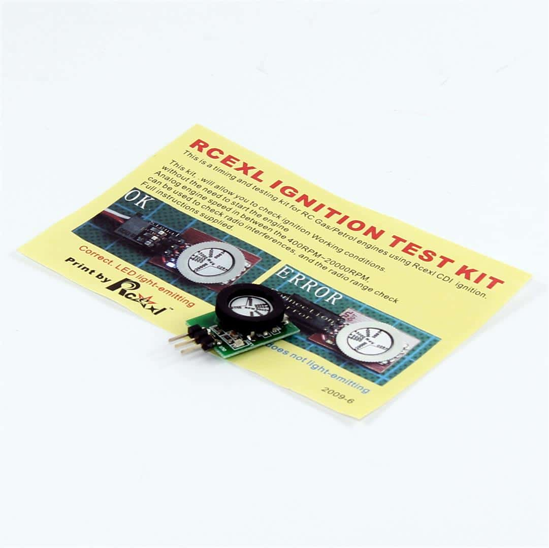 rcexl ignition test kit instructions