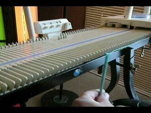 sew easy knitting machine instructions
