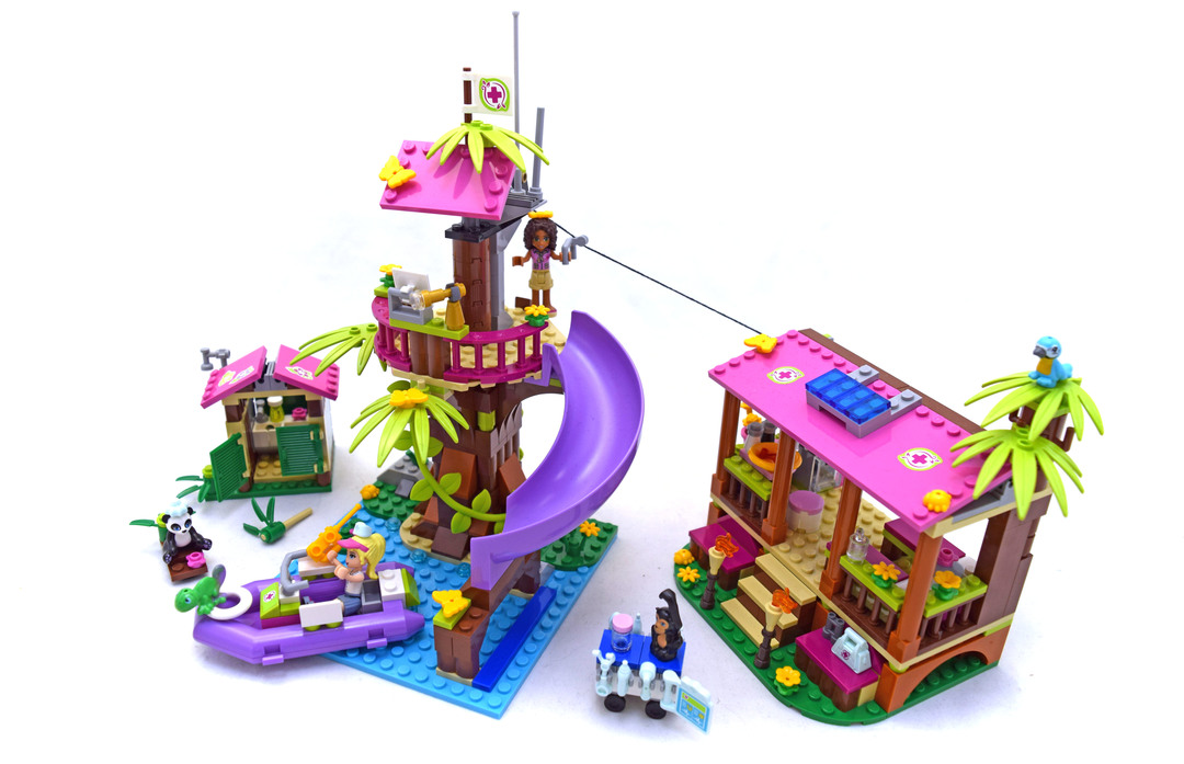 lego friends jungle rescue base instructions