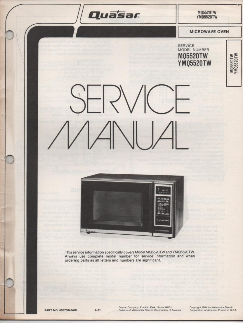 microwave oven instruction manual