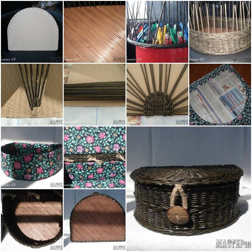 how to weave baskets instructions