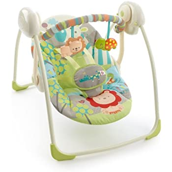 bright starts portable swing instructions