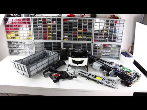 lego technic dump truck instructions