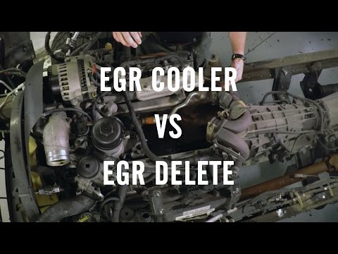 egr cooler replacement instructions