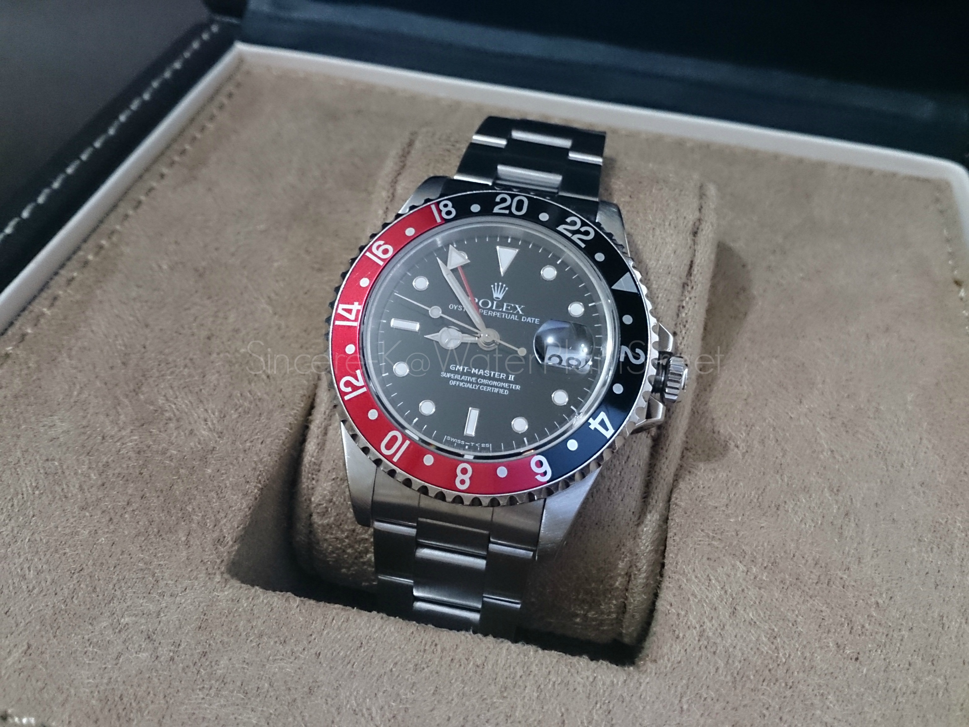 rolex gmt master ii instruction manual