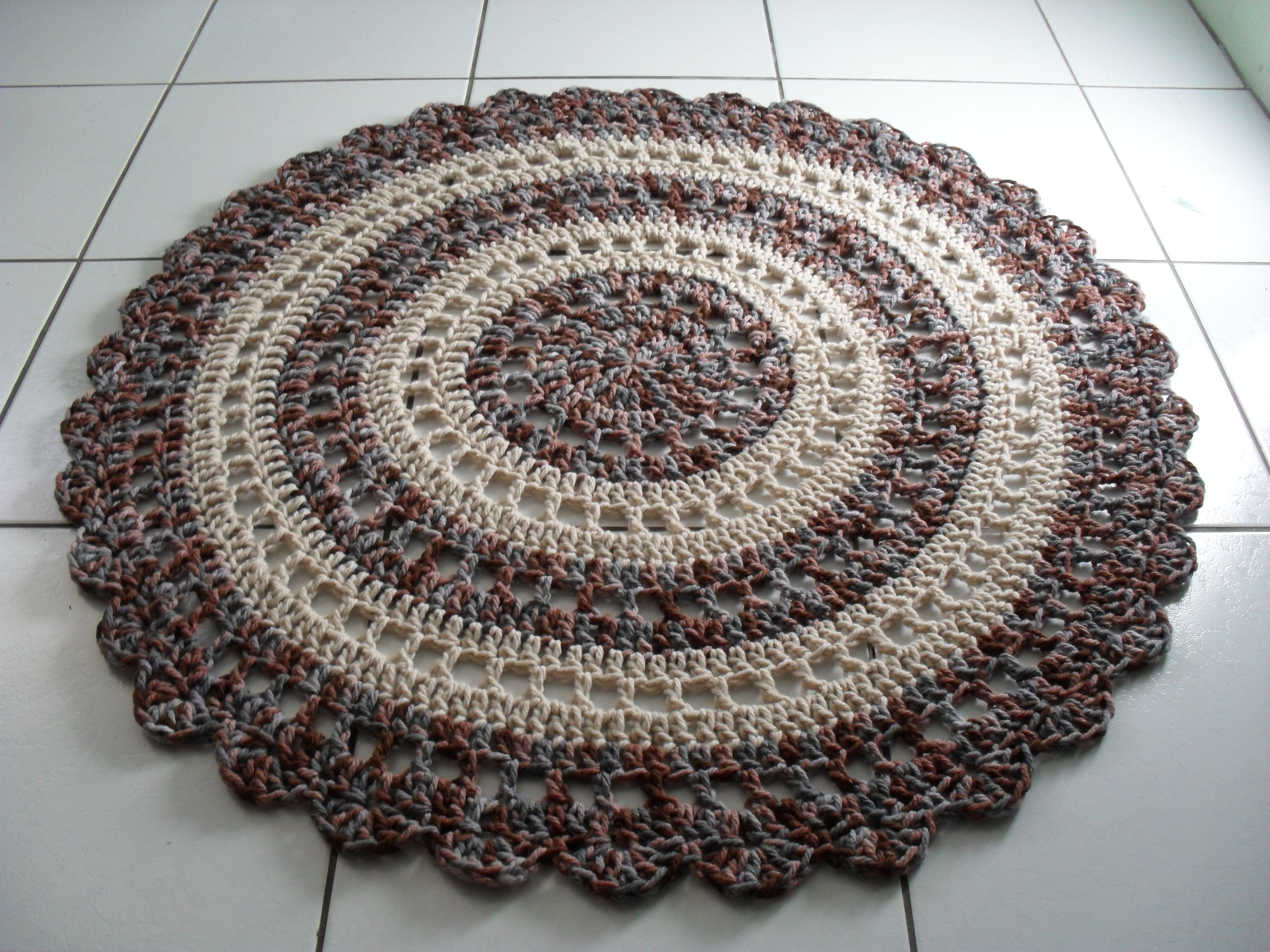 crochet rag rugs instructions