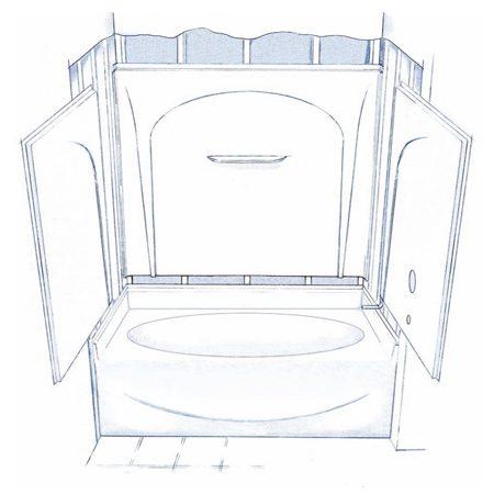 acrylic bath installation instructions