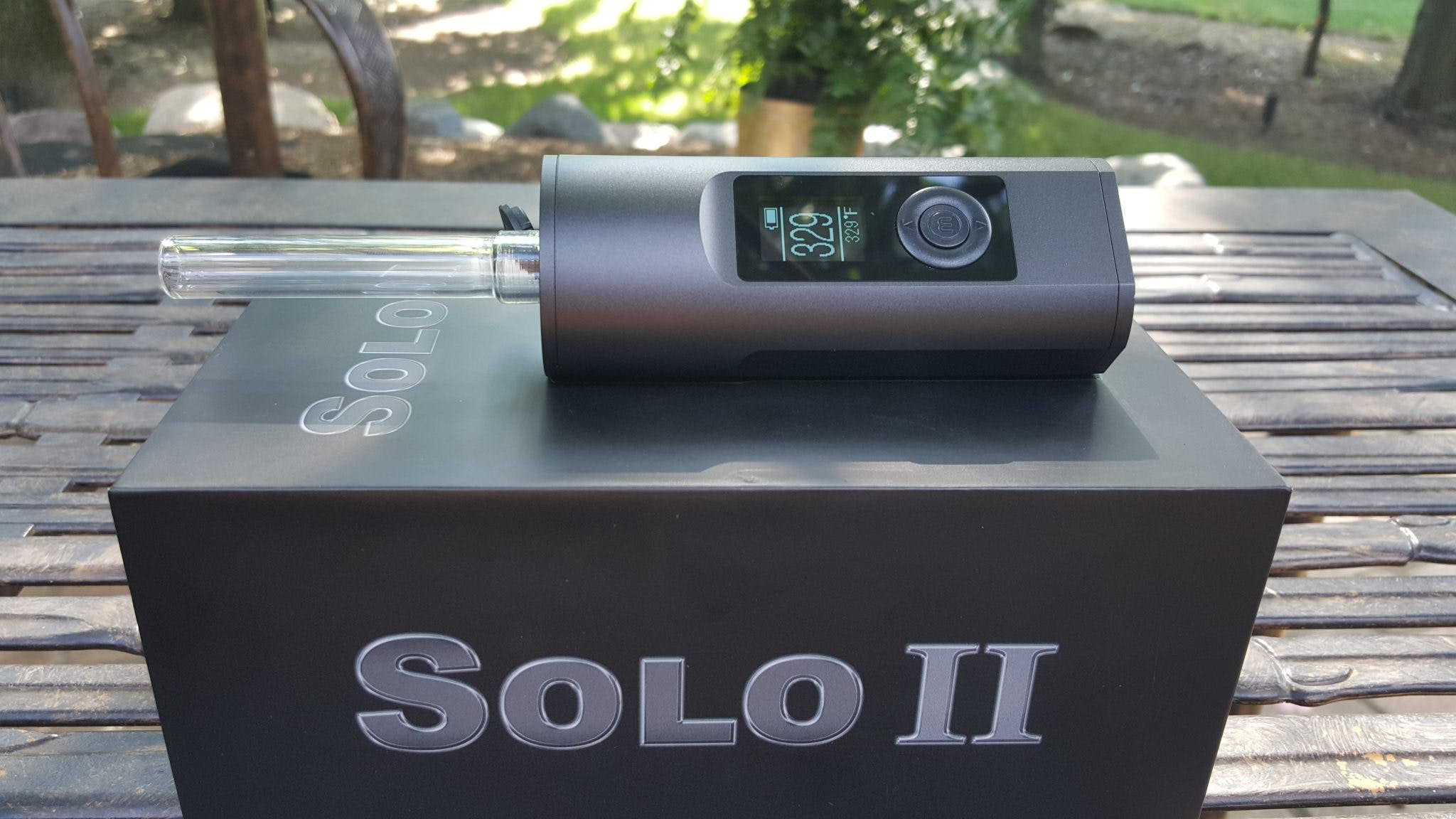 arizer solo charging instructions