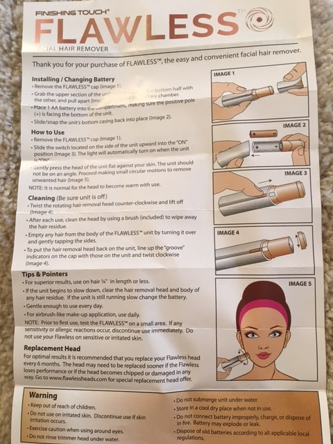 me hair removal instructions