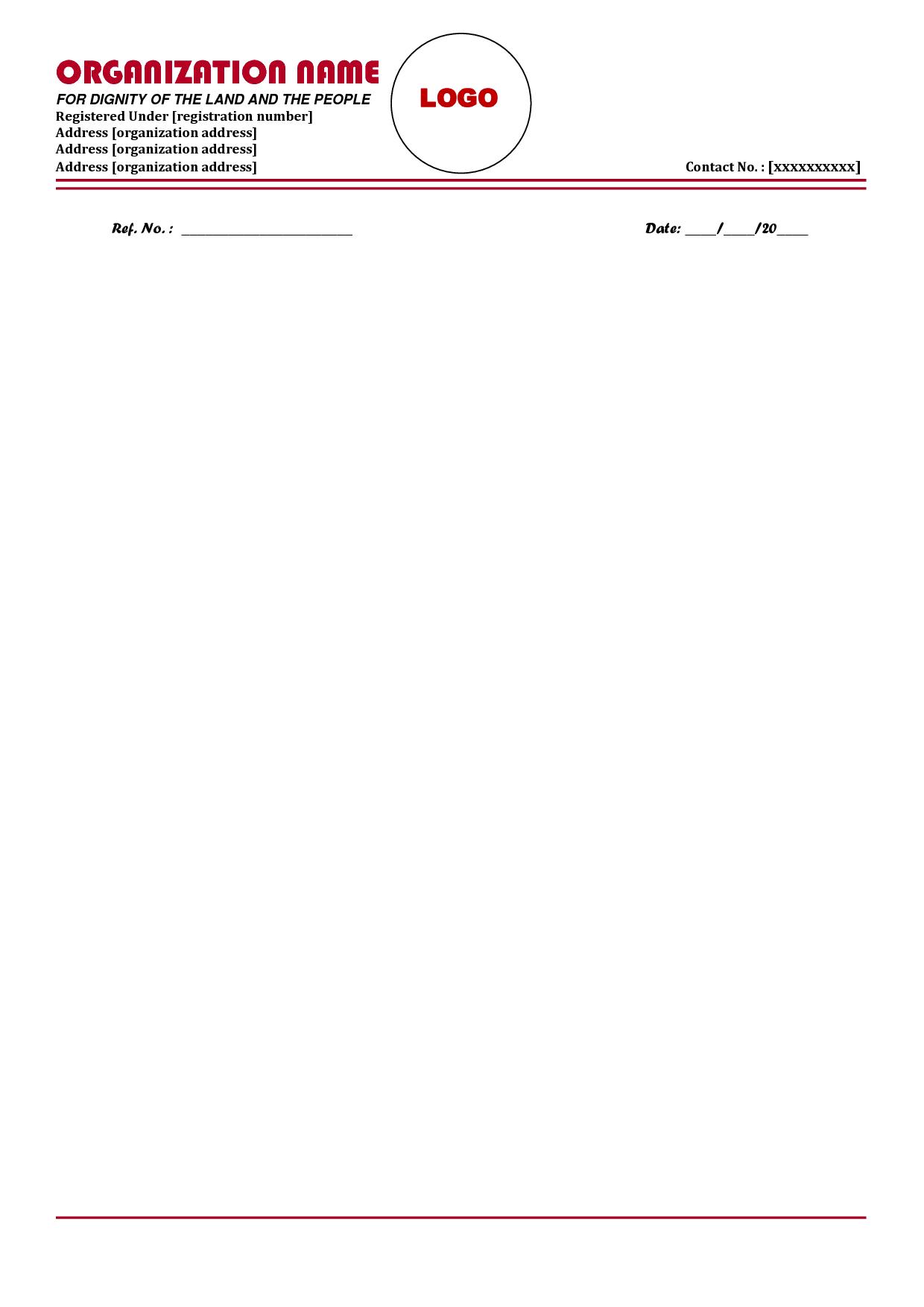 medium of instruction letter format