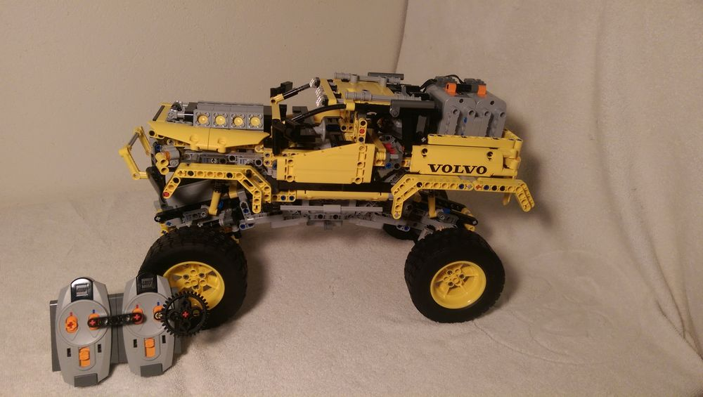 lego technic 4x4 crawler 9398 instructions