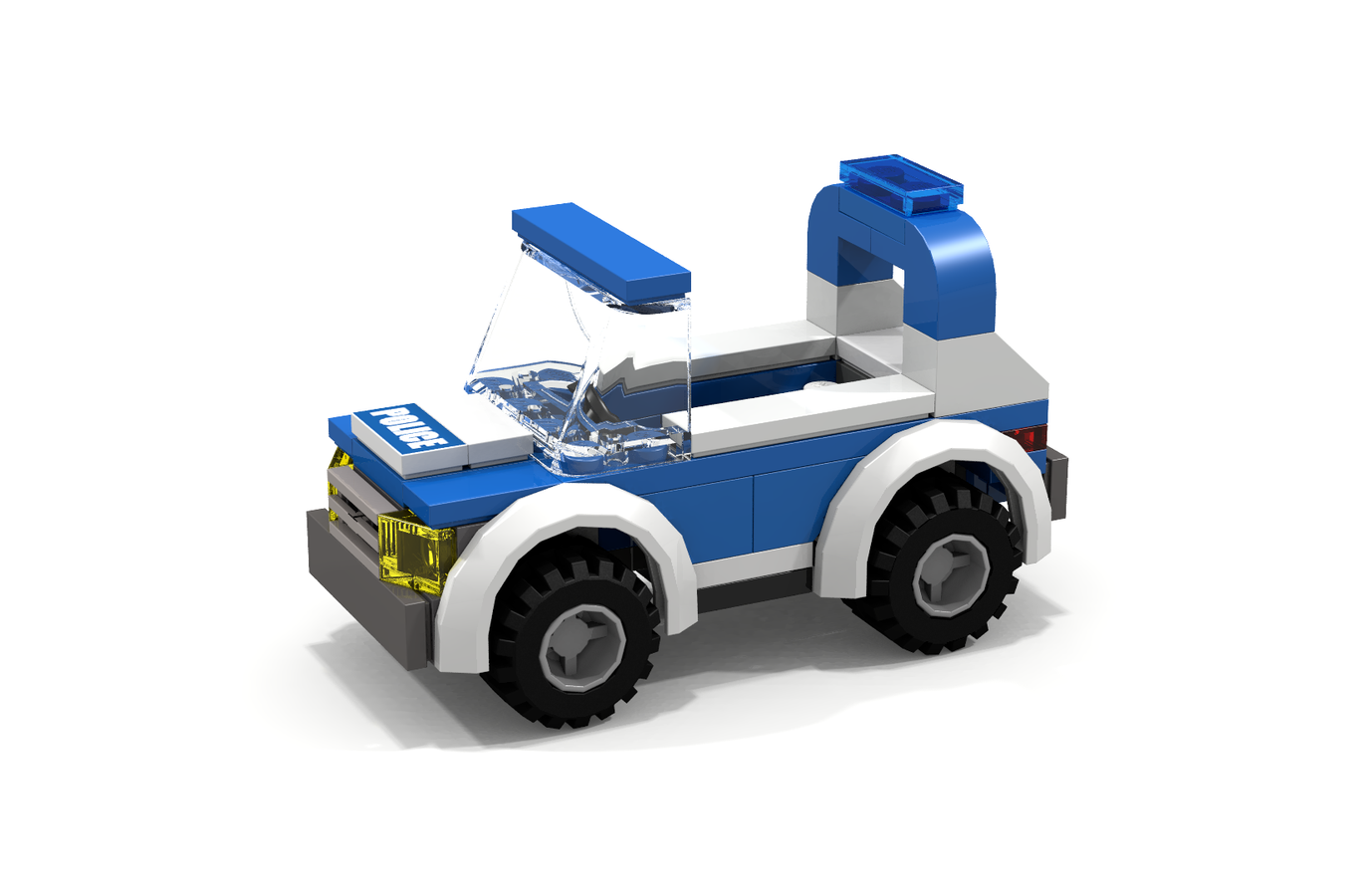 lego police vehicle instructions