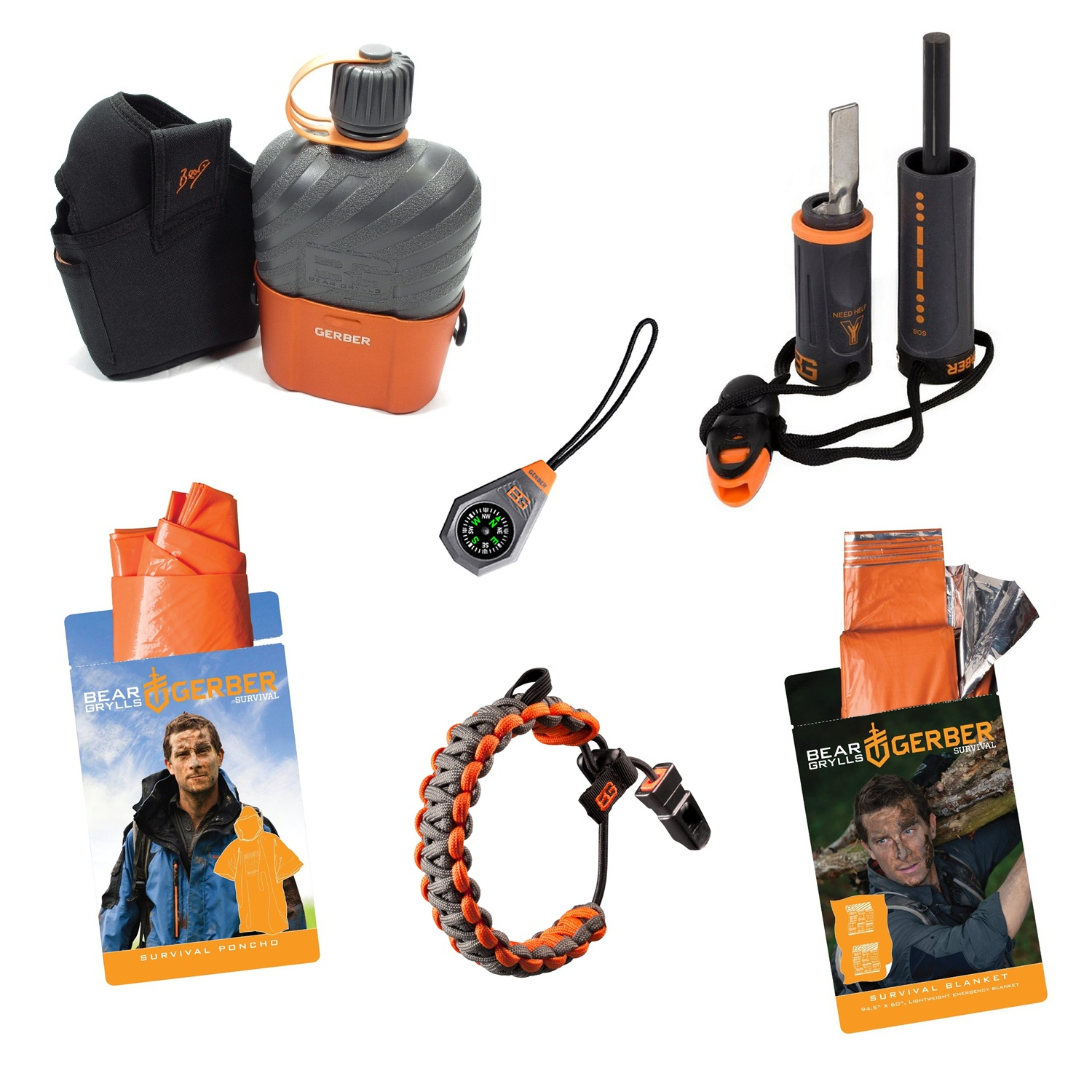 bear grylls fire starter instructions
