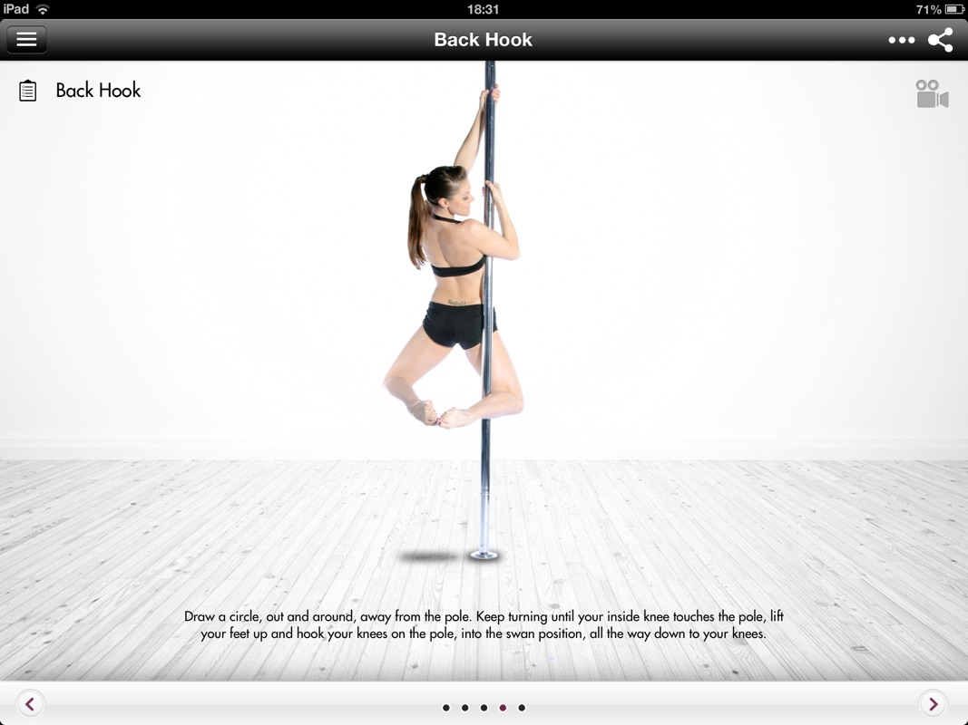 pole dancing instructional videos
