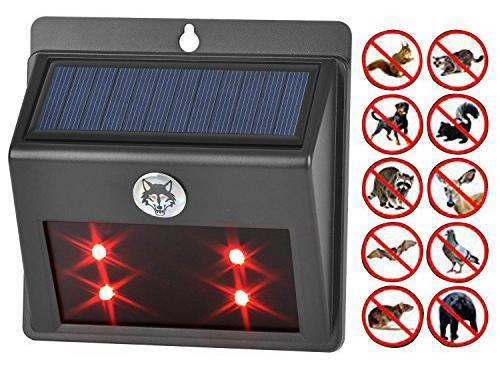 bell howell solar animal repeller instructions