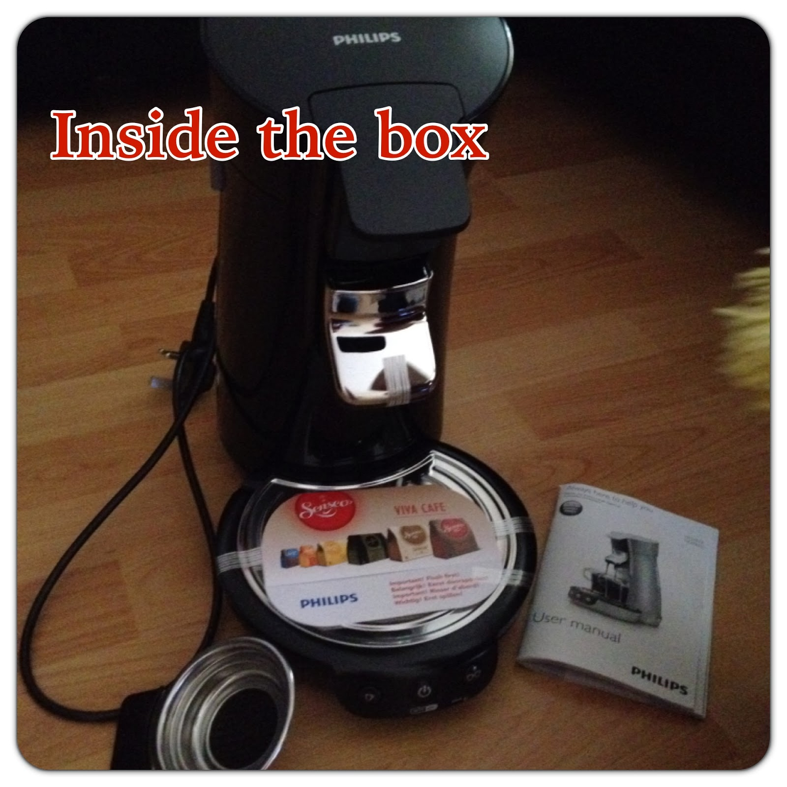 senseo coffee maker instructions